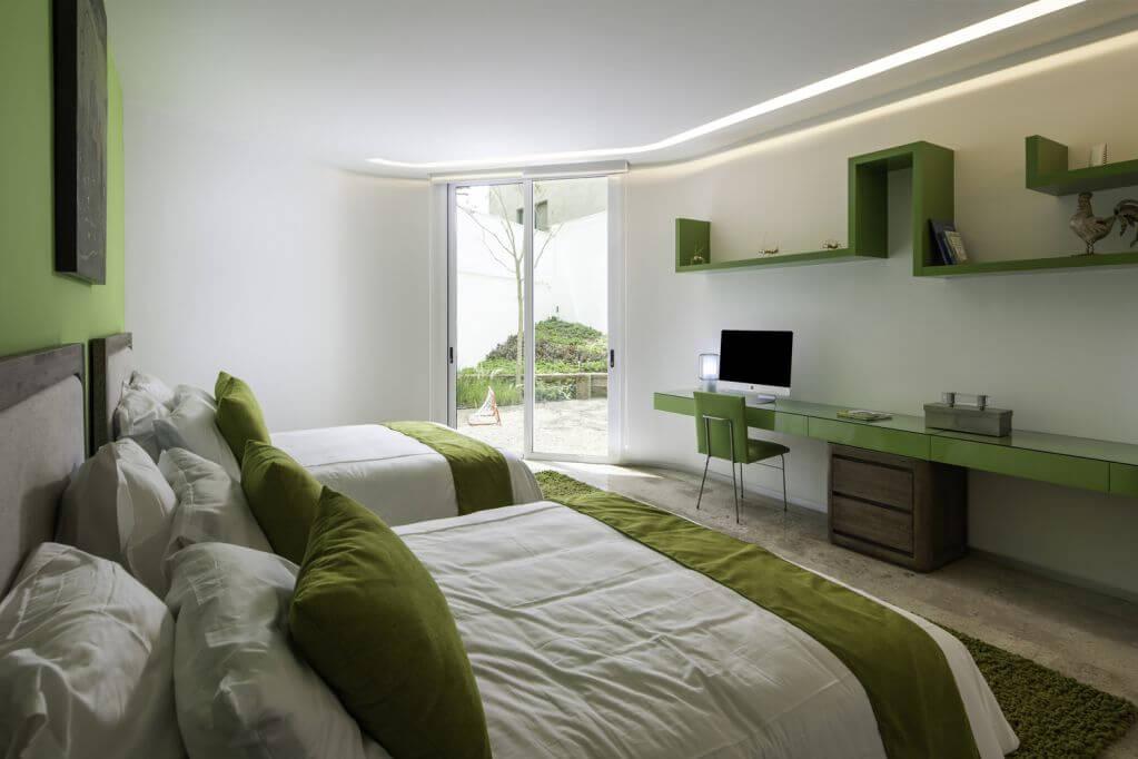Thiết kế phòng ngủ đầy độc đáo