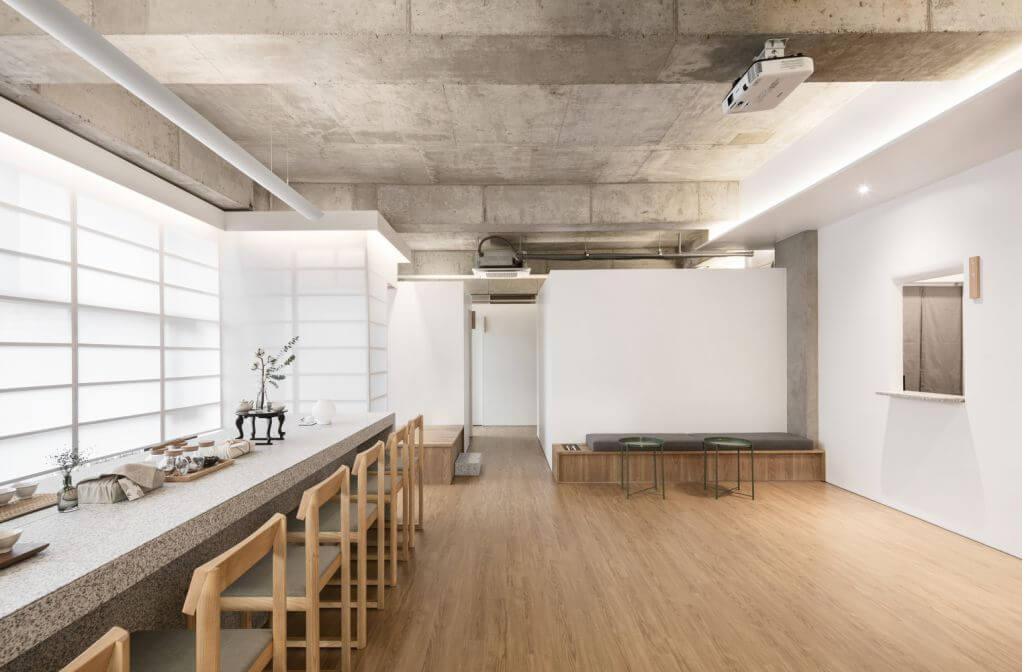 Vật liệu bằng gỗ ấm áp được thiết kế cho dự án