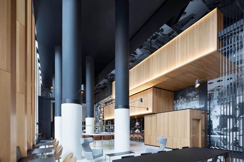 Dự án thiết kế khách sạn Hotel Monville của ACDF Architect