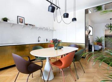 Dự án thiết kế căn hộ Apartment LC của Bogdan Ciocodeica Studio