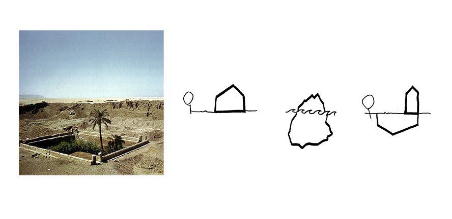 Hình dạng ngôi nhà tựa một tảng băng trôi