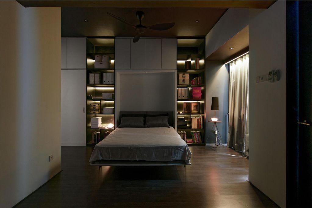 Nội thất được sử dụng theo phong cách tối giản