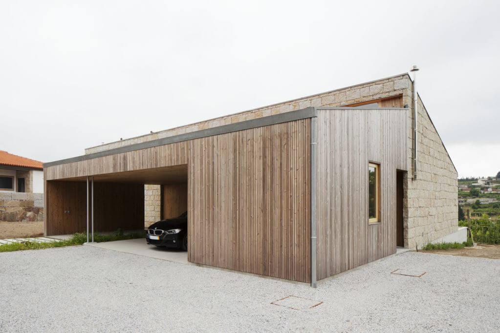 Dự án thiết kế nhà ở Sister's House của Balthazar Aroso Arquitectos