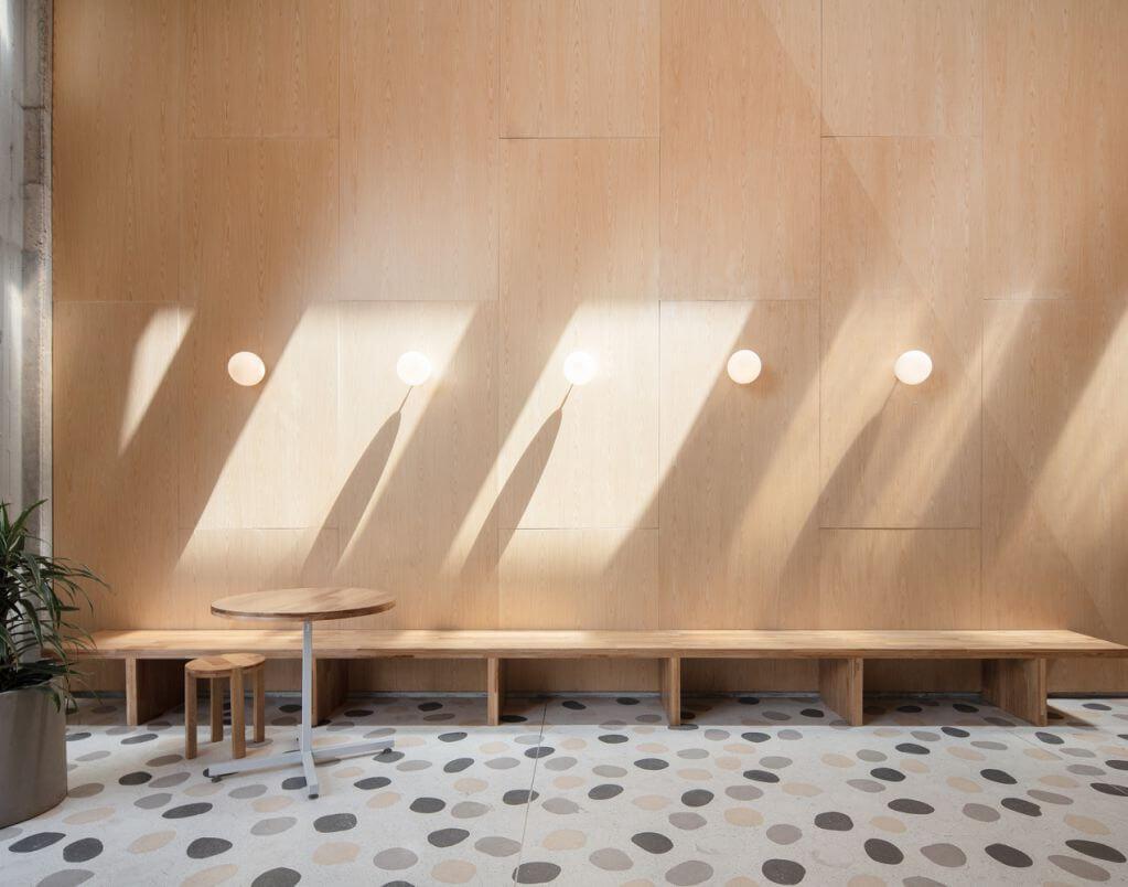 Ánh sáng tự nhiên và nhân tạo được thiết kế trong dự án
