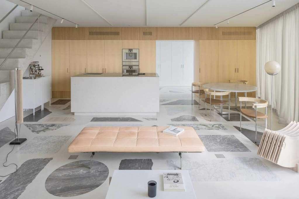Dự án thiết kế căn hộ The Apartment của DO Architects tại Lithuania