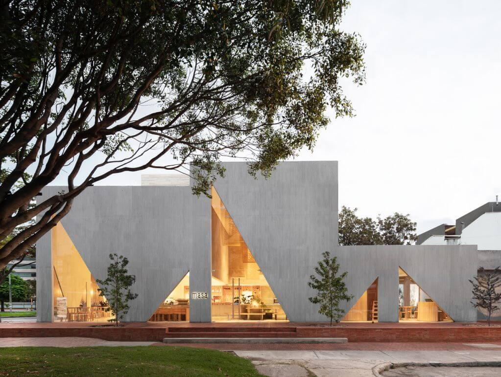 Dự án thiết kế kiến trúc Masa của Studio Cadena tại Colombia