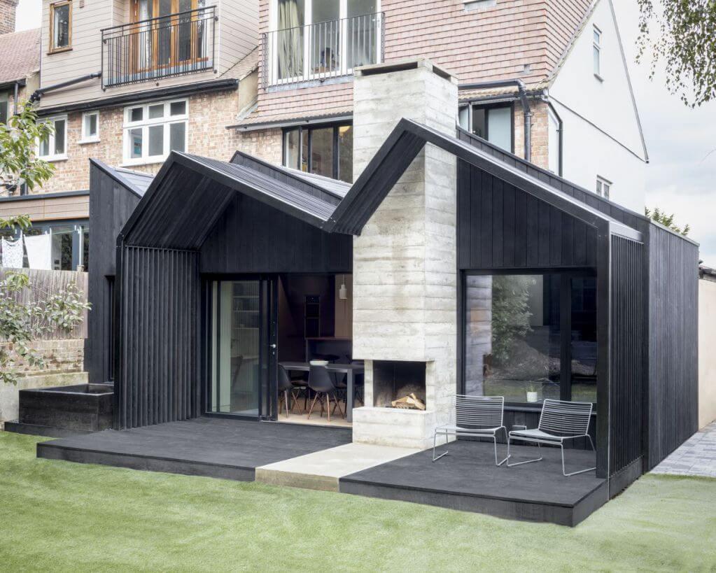 Dự án thiết kế nhà ở Algiers Road của Gruff tại Anh