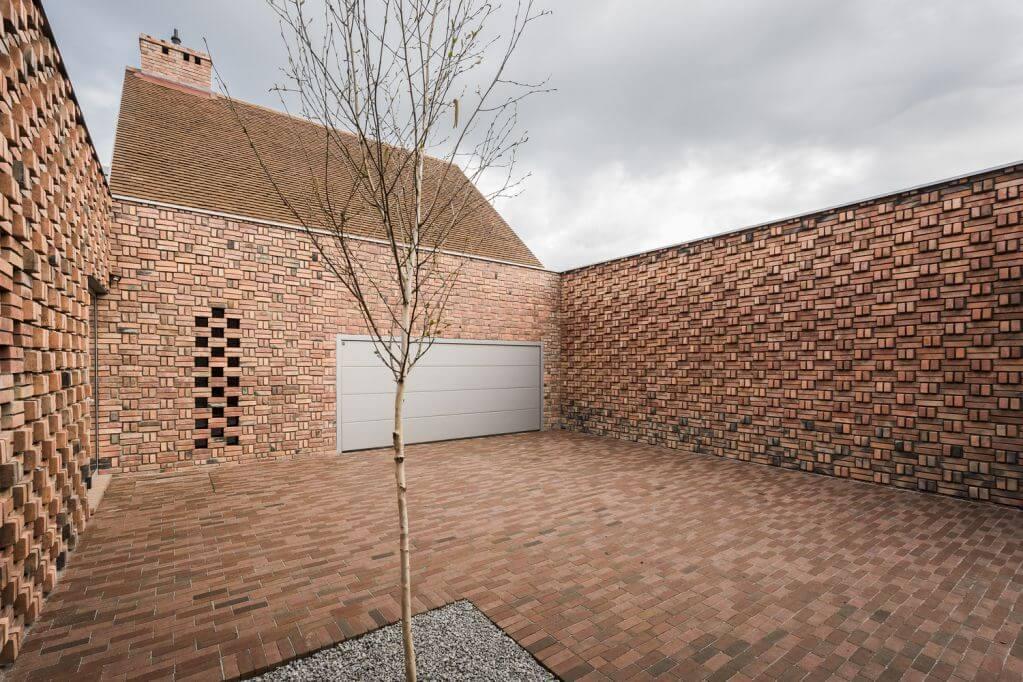 Dự án thiết kế nhà ở Red House của Biuro Toprojekt