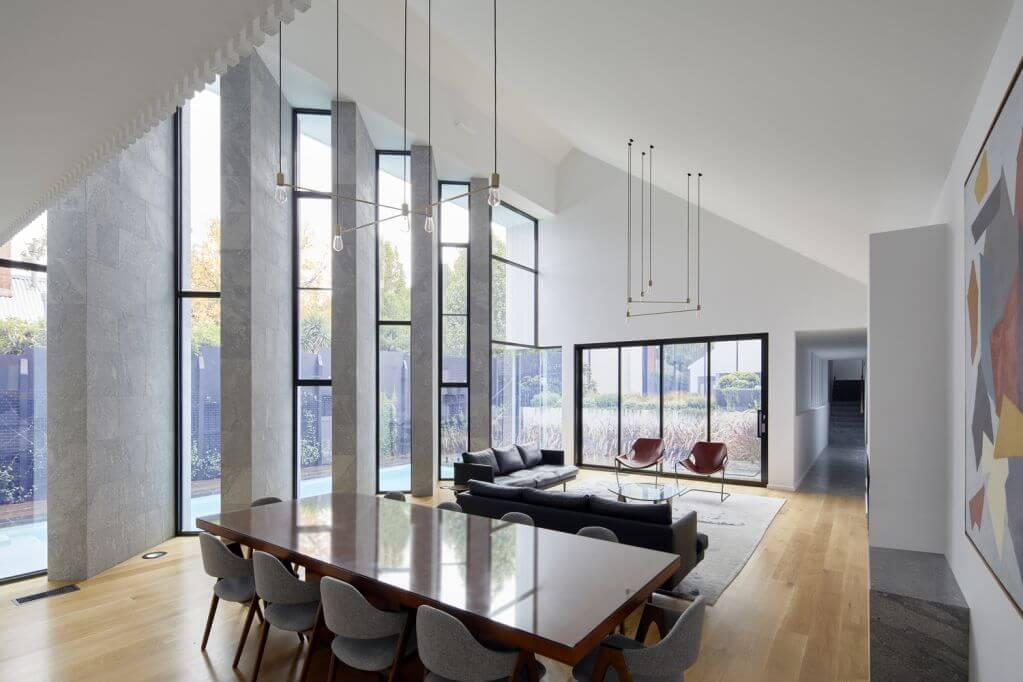 Dự án thiết kế nhà ở Roshan của Mostaghim & Associates