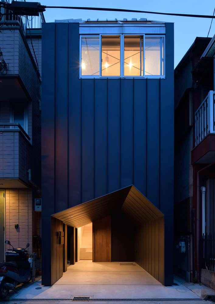 Dự án thiết kế nhà ở YMT House của Geneto