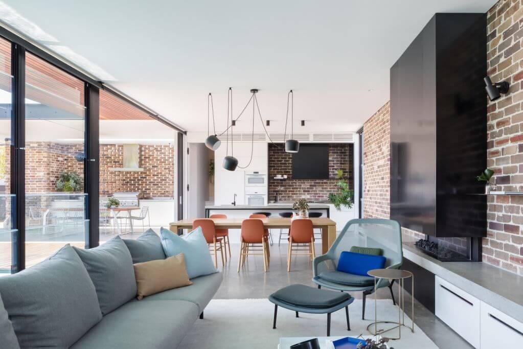 Dự án thiết kế nội thất Preston House của Sydesign và Lot 1 Design