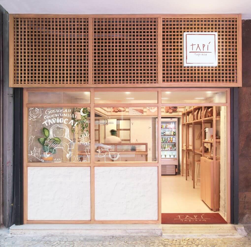 Dự án thiết kế quán cafe Tapi Tapioca của Tavares Duayer Arquitetura