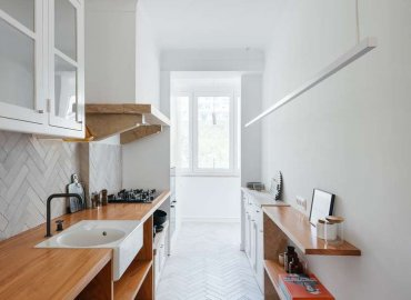 Sự giao tiếp của phòng bếp với những không gian khác