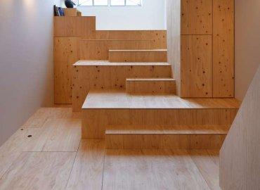 Thiết kế cầu thang tạo ra không gian riêng tư