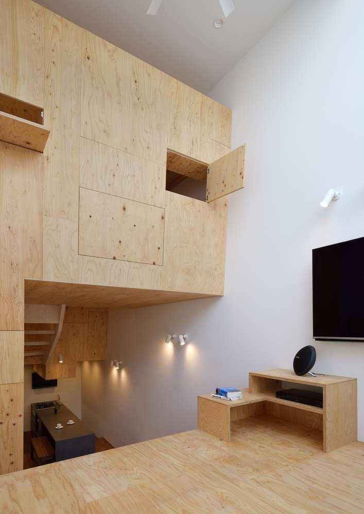 YMT House được sử dụng vật liệu gỗ địa phương