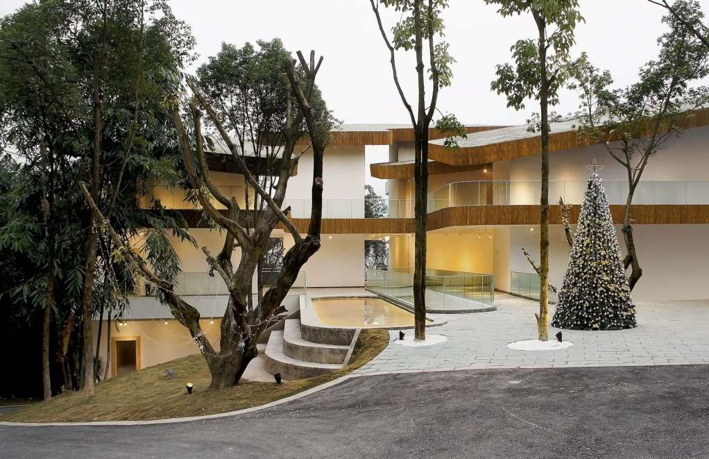 Dự án thiết kế trên một địa hình nhấp nhô