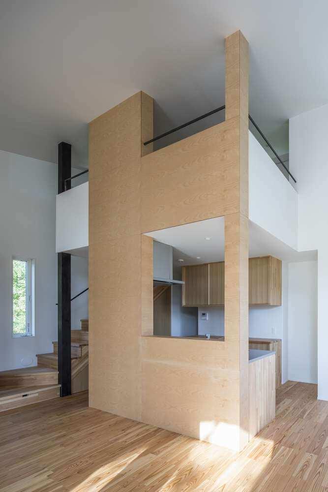 Thiết kế không gian bên trong ngôi nhà