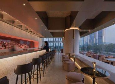 Wann Lounge kết hợp với những vật liệu tự nhiên