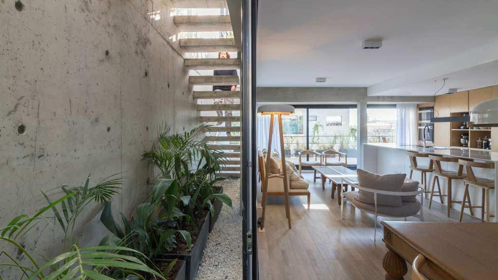 Các không gian được thiết kế theo phong cách đương đại