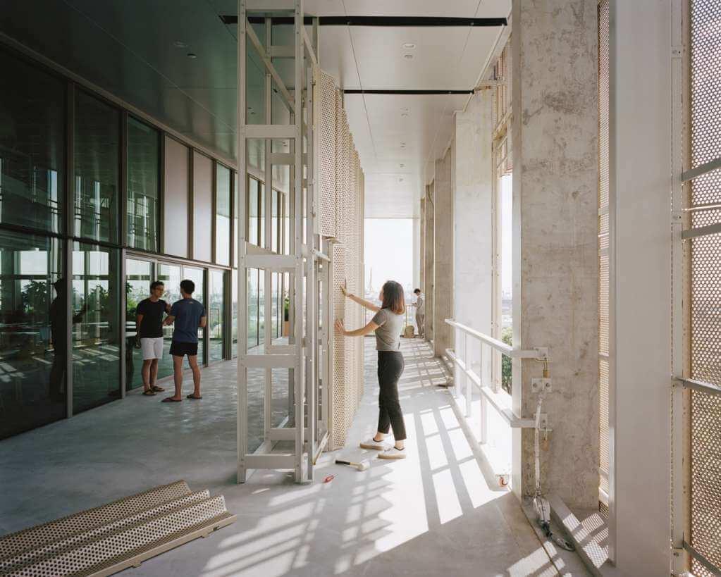 Dự án bao gồm một loạt các không gian công cộng