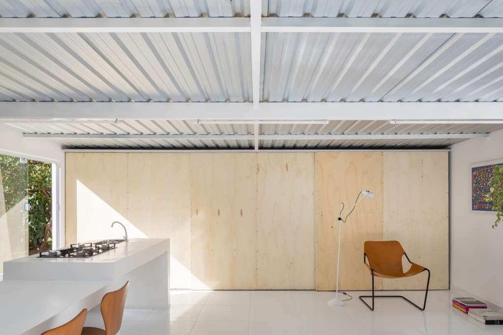 Dự án thiết kế căn hộ Casinha của Jardim Arquitetura tại Brazil