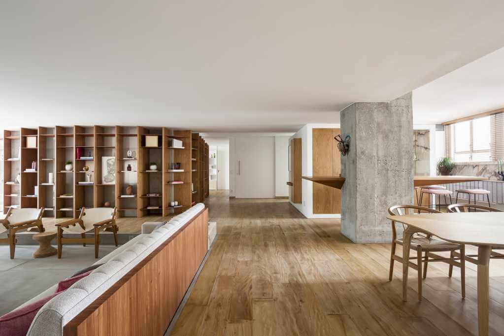 Dự án thiết kế căn hộ VLP của Pascali Semerdjian Arquitetos tại Brazil