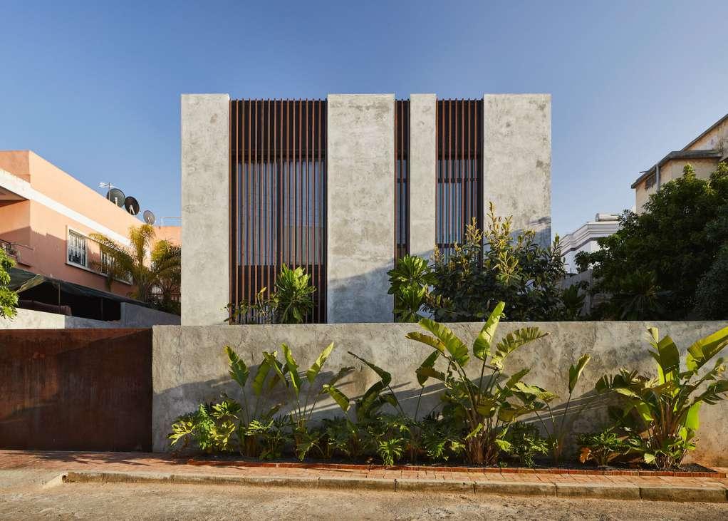 Dự án thiết kế nhà ở LM House của Elements Lab tại Morocco