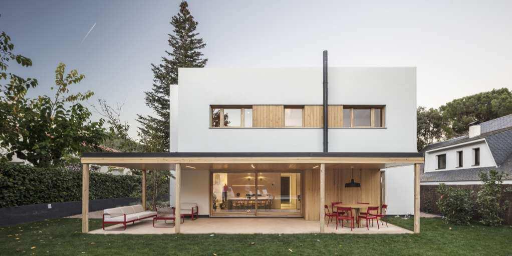 Dự án thiết kế nhà ở Noa House của Alventosa Morell Arquitectes