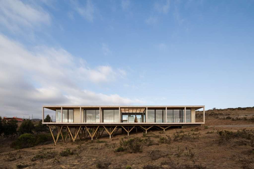Dự án thiết kế nhà ở Muelle House của SAA Arquitectura và Territorio