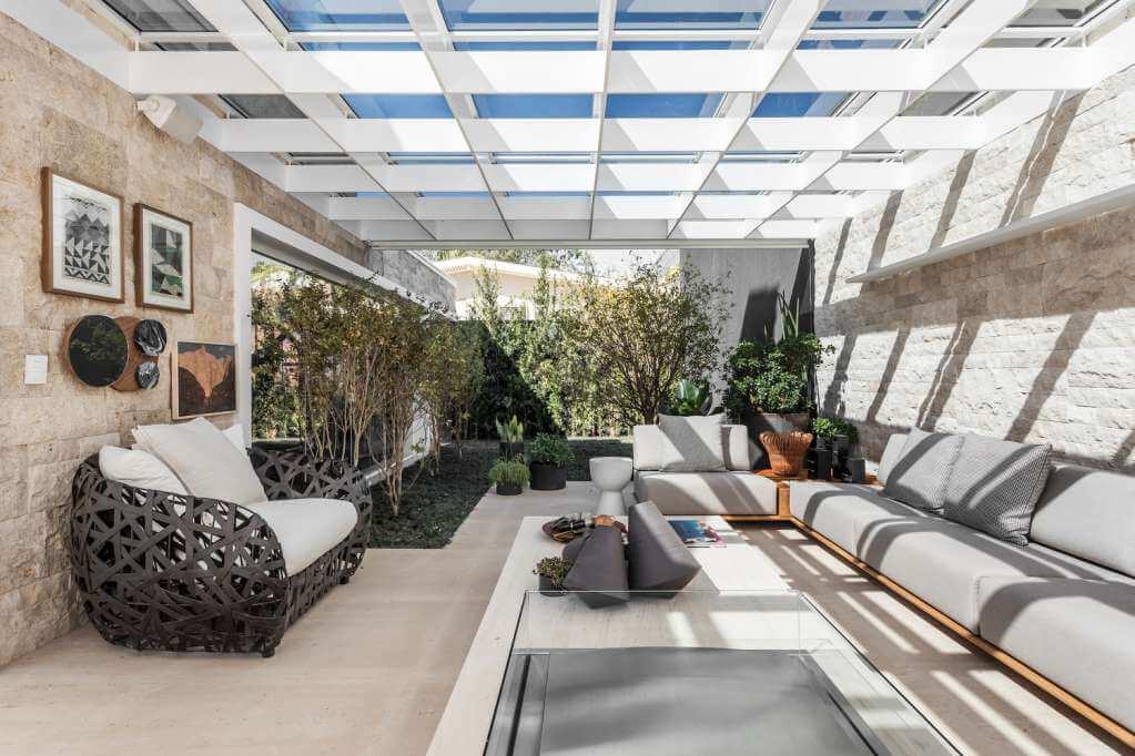 Dự án thiết kế nội thất nhà ở Casa PJ của Priscilla Muller