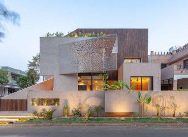 Dự án thiết kế nội thất nhà ở Chhavi House của Abraham John Architects