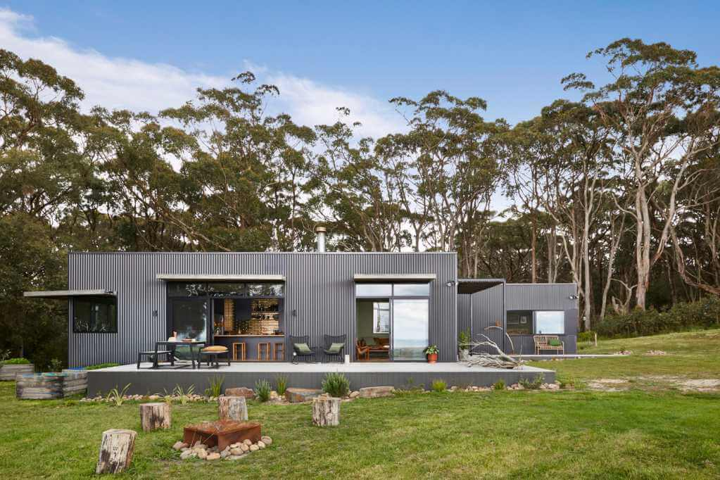 Dự án thiết kế nội thất nhà ở Fish Creek House của Archiblox Pty
