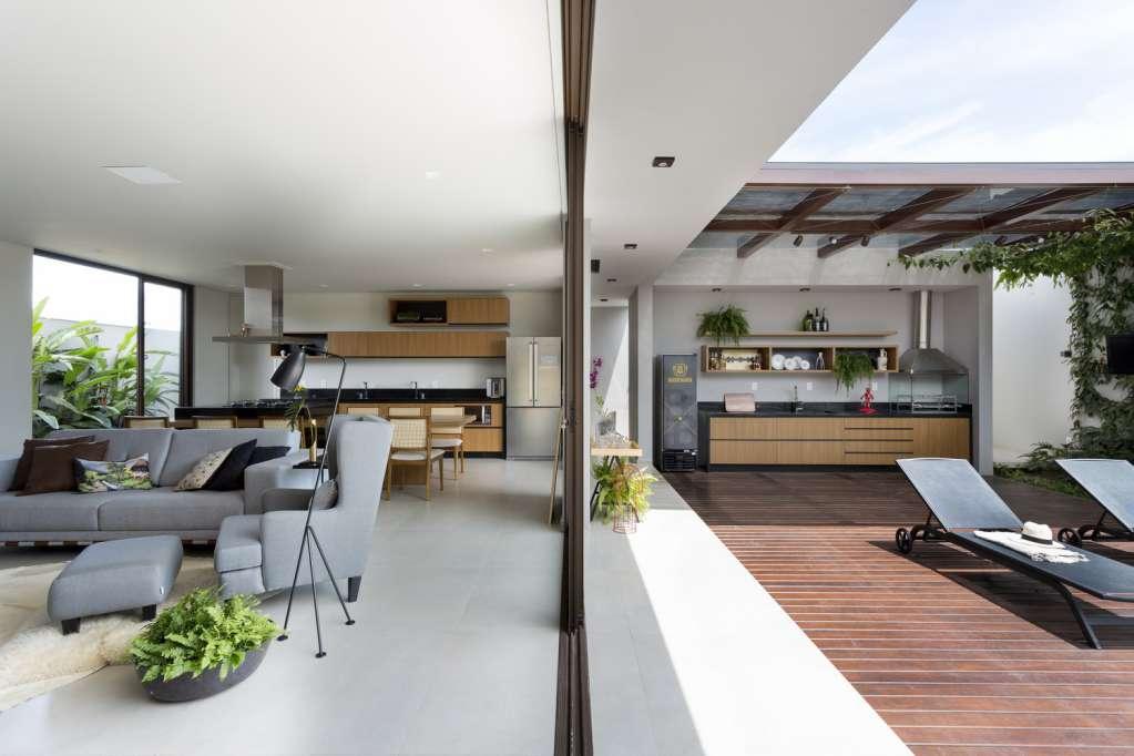 Dự án thiết kế nội thất nhà ở House I của Tria Arquitetura tại Brazil
