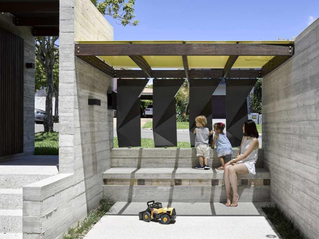 Dự án thiết kế nội thất nhà ở Tarragindi Steel House tại Australia