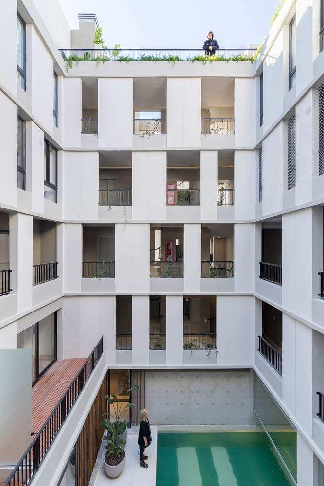 Dự án thiết kế tòa nhà JA1205 của Cubero Rubio tại Argentina