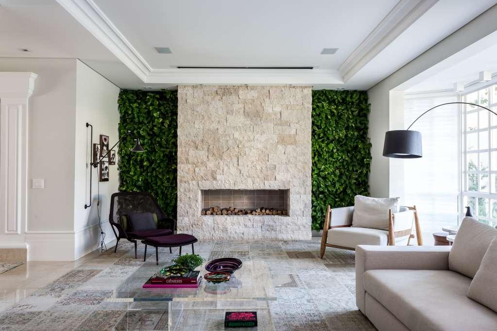 Mảng xanh tự nhiên được đưa vào trong thiết kế