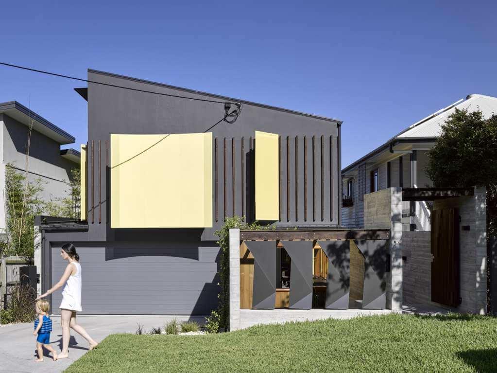 Mặt tiền dự án thiết kế nội thất nhà ở