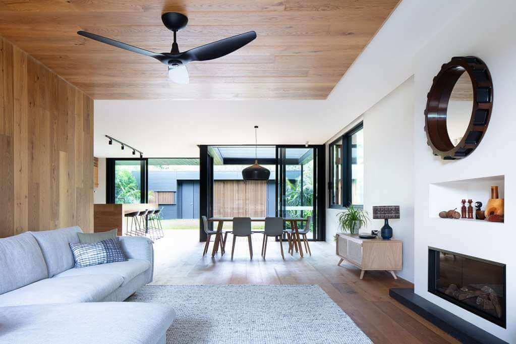 Ngôi nhà thiết kế phù hợp với lối sống của một gia đình hiện đại