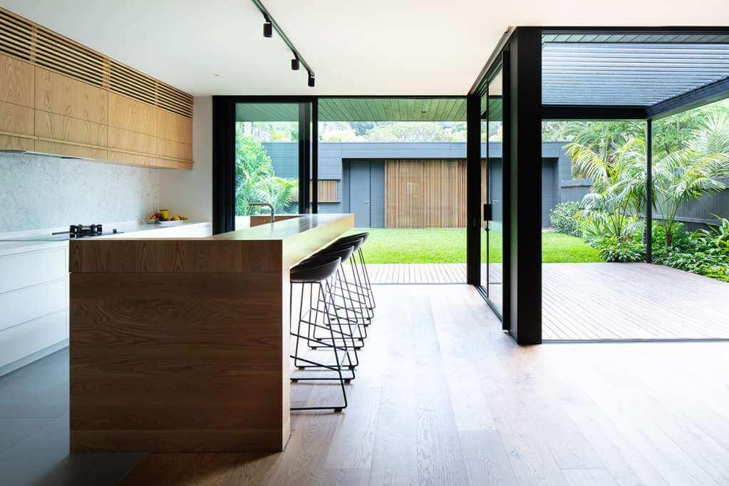 Ngôi nhà thiết kế thu hút nhiều ánh sáng tự nhiên