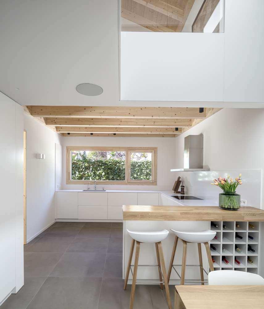 Sự phân chia không gian thông qua nội thất