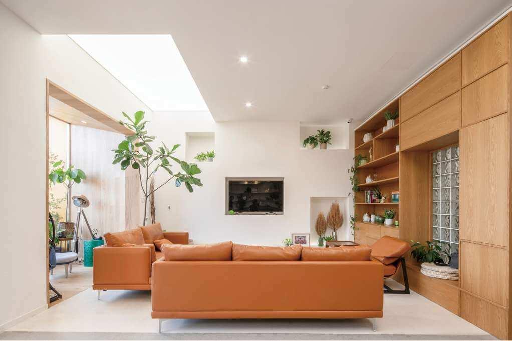 Thiết kế Hongyue đưa nhiều yếu tố tự nhiên vào trong dự án