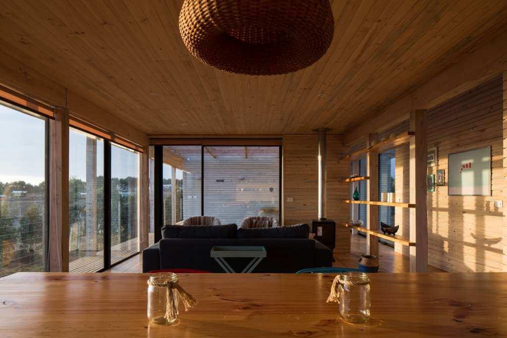 Thiết kế không gian chung trong ngôi nhà