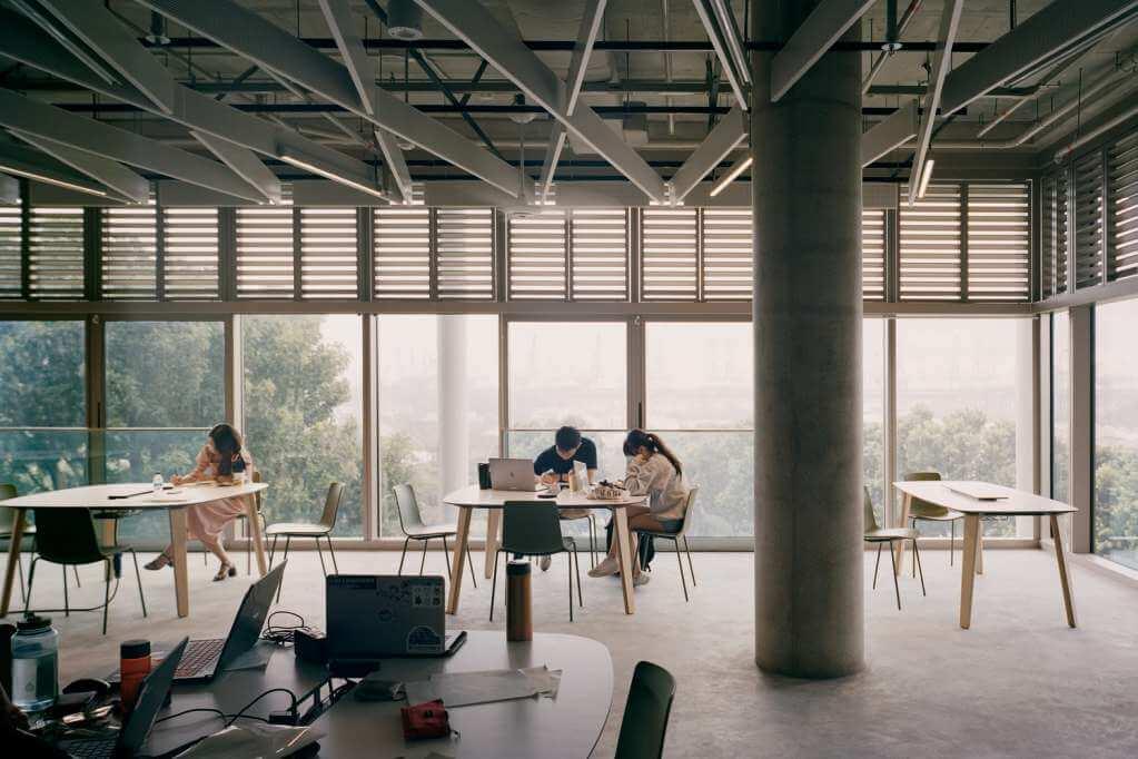 Thiết kế linh hoạt khu vực học tập và làm việc