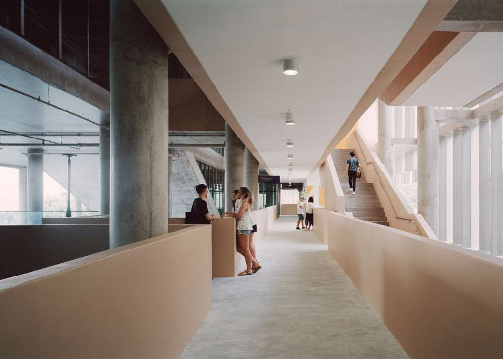 Thiết kế mở cho các không gian học tập và nghiên cứu