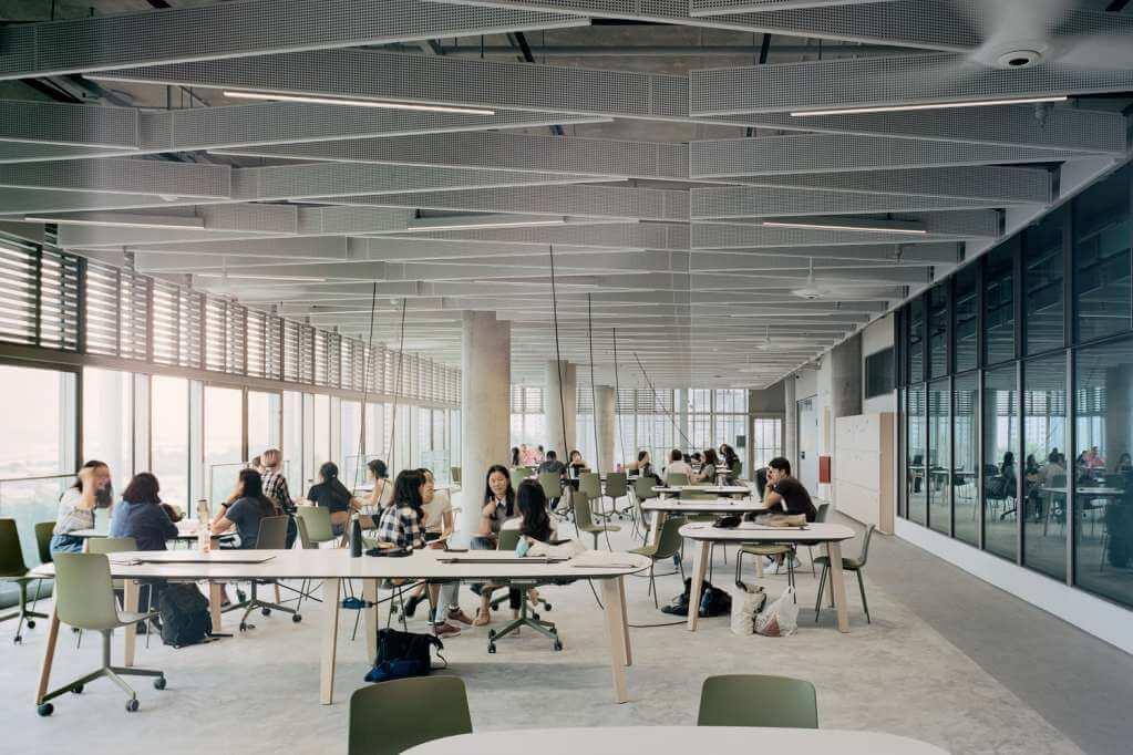 Thiết kế nhấn mạnh vào những không gian công cộng